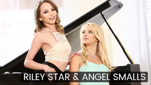 Riley Star & Angel Smalls FuckingAwesome.com